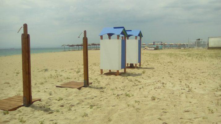 Νέα Αποδυτήρια και Νέες Ντουζιέρες στο Δήμο Θερμαϊκού